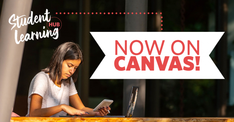Student Learning Hub Now On Canvas