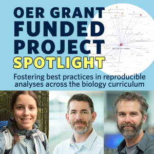 OER Project Spotlight: Fostering best practices in reproducible analyses